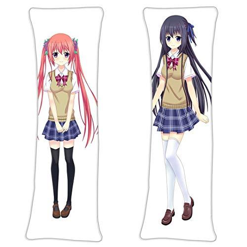 NiyoKE A Summer Promise to Forever Cartoon Anime Umarmungskissen Bezug 59 * 19.6 in Doppelseitige Kissenbezug Natural Velvet Pillowcases