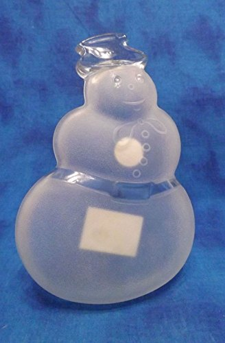 8' Snowman Plate Celebrations With Warmest Wishes