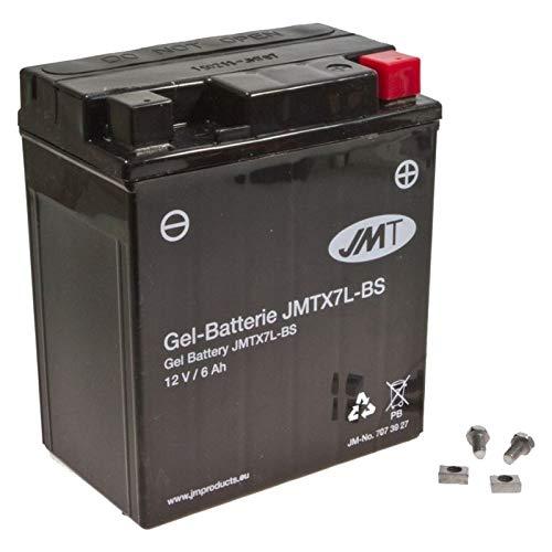 YTX7L-BS Gel Batterie für SH 125 i Baujahr 2005-2013 von JMT