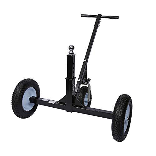 Rangierhilfe für Anhänger & Wohnwagen, 3 Räder, bis 453,6 kg, höhenverstellbare Kupplungskugel