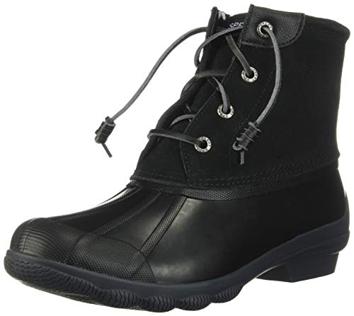 Sperry Top-Sider Syren Gulf Duck Boot Women 5 Black