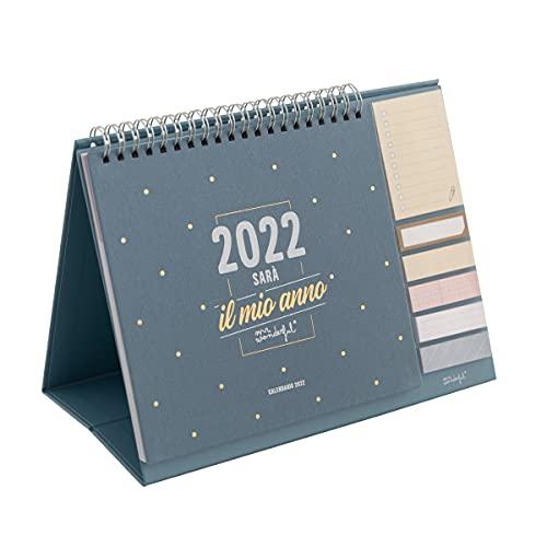 Calendario da tavolo - 2022 sarà il mio anno