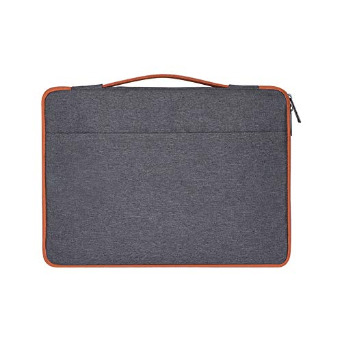 Laptop Sleeve, 15.6 Zip Up Waterproof, Breathable, wear-Resistant, Anti-Theft, Lightening, Shockproof Bag Cover Case for MacBook,Dark Grey