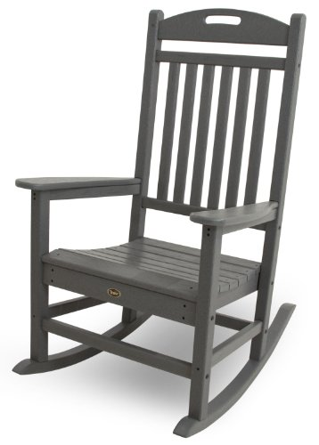 Trex Outdoor Furniture Yacht Club Rocker Chair, Stepping Stone