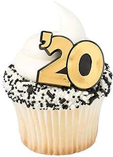 '20 Cupcake Rings - Package of 24
