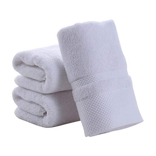 YHWW Toalla de baño,100% algodón Toalla de Cara de Color sólido Pañuelo Suave Toalla Gruesa Toallas de baño de Mano Baño, w, China