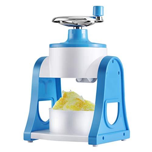 SYTH Ice Crusher Manuelle Eisrasierer und Schneekegelmaschine,Eisbrecher tragbare Haushalt Handheld Handbuch Eisschneider Fried Ice Machine