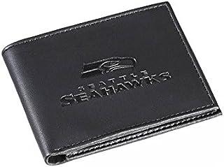 Team Sports America Leather Seattle Seahawks Bi-fold Wallet