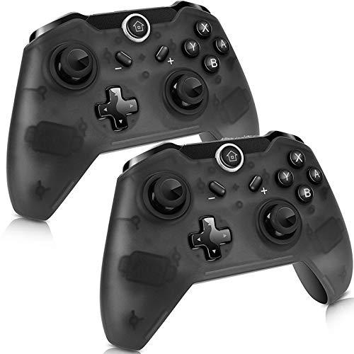 NOBRAND 1 PC / 2 PCS Wireless Gamepad Bluetooth Pro Controller ergonomía Gamepad Controle for S-w-i-t-c-h LPLHJD (Color : 2pcs, Size : 1)