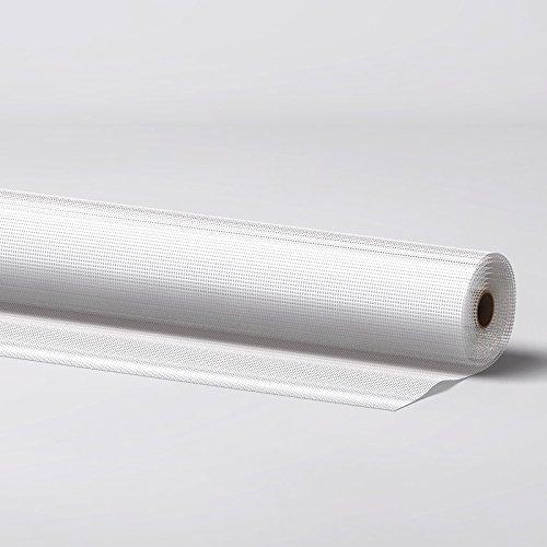 Fliegengitter Gewebe aus Fiberglas 120 x 250 cm in weiß Insektenschutzgewebe für Fenster und Türen Fliegennetz Rollenware Größenwahl Farbwahl Insektenschutz-Gitter