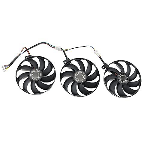 T129215SU 7PIN GPU Card Fan Fan para ASUS ROG RTX 2070 2080 Super TI Gaming RTX2080 RTX2080TI Fan (Blade Color : 3PCS)