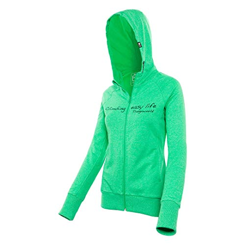 Trangoworld JASP Veste, Femme L Vert (Verde isla)