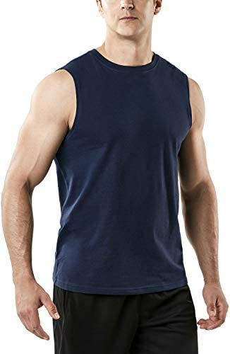 TSLA Men s Sleeveless Running Tank Top Performance Athletic Muscle Shirts Dry Fit Workout Gym product image
