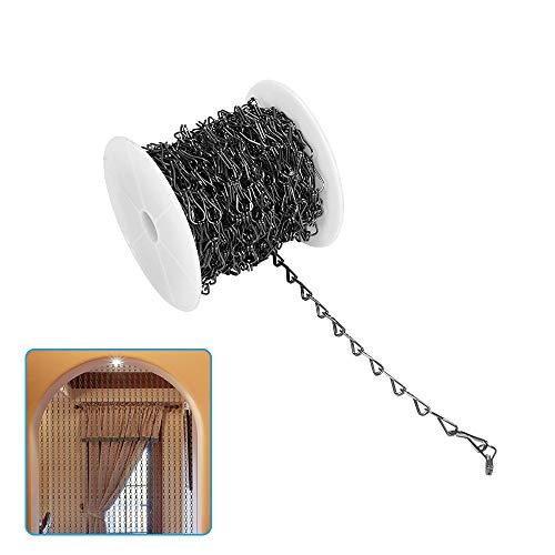 Pantalla de aluminio 1.66mm*20m de la cortina de la puerta de la cortina del metal de la cortina de la cadena de