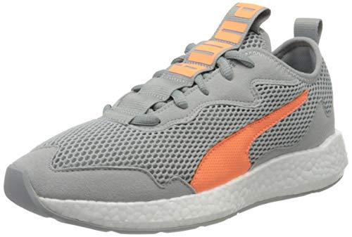 PUMA Damen NRGY Neko Skim WNS Sneaker, Grau (High Rise-Fizzy Orange), 38 EU