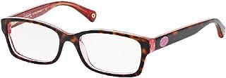 Coach HC6040 BROOKLYN Rectangle Eyeglasses For Women+FREE Complimentary Eyewear Care Kit