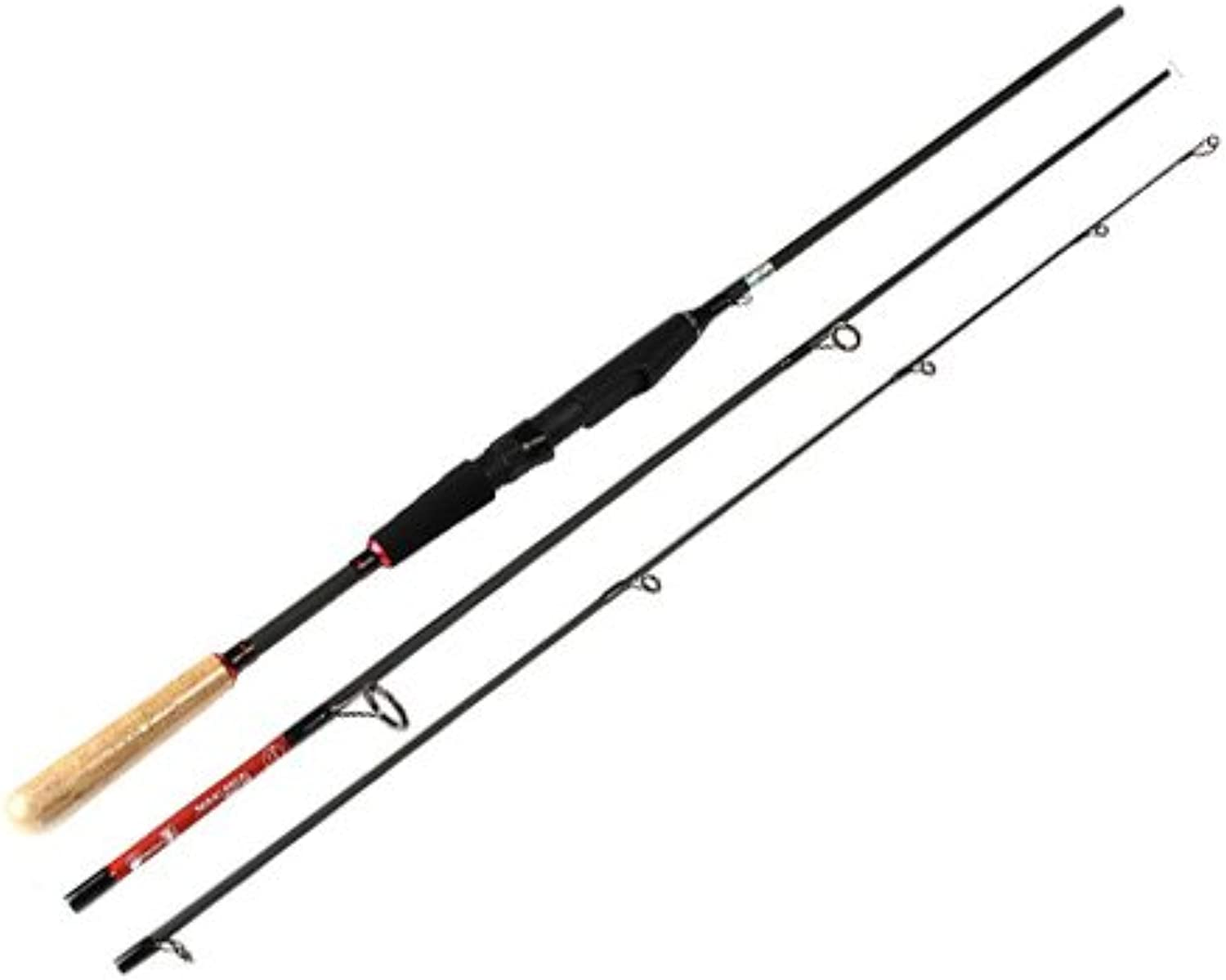 Lure Rod 1.8M 2.1M 2.4M 2.7M 3 Sections Soft Bait Hard Lure for Sea Fishing Rod