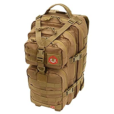 Orca Tactical Military Molle Backpack Small Army SALISH 34L 1 or 2 Day Survival Bag Rucksack Pack (Coyote Brown)