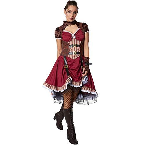 dressforfun 900483 - Disfraz de Mujer Aristócrata Steampunk ...
