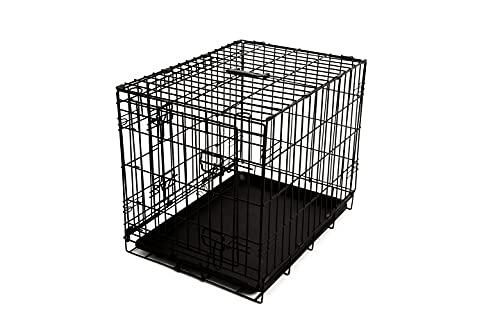 51DegreesNorth - Jaula para perros plegable con rejilla, para transporte y transporte...