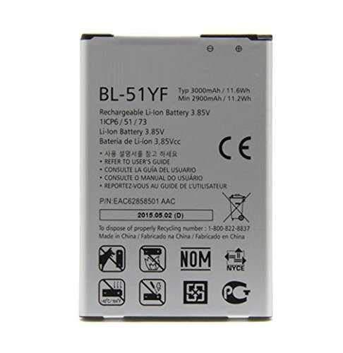 Todobarato24h Bateria Compatible LG G4 (H815/ H818), G4 Stylus BL-51YF 3000 mah
