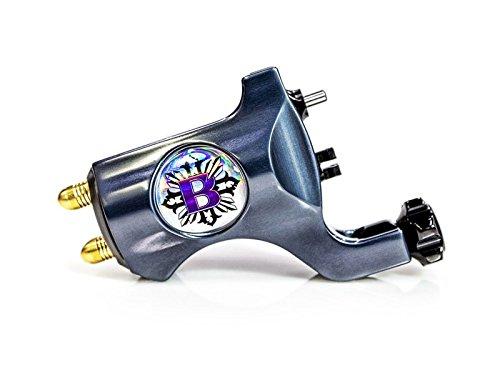 Bishop Rotary Authentic Tattoo Machine - Clip Cord (Matte Black)