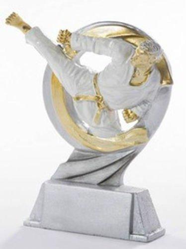 RaRu Karate-Pokal Resin-Figur mit Wunschgravur