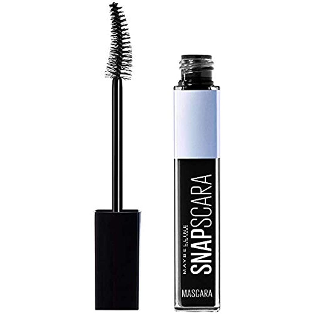 New York Snapscara Washable Mascara, 300 Pitch Black (Pack of 2)
