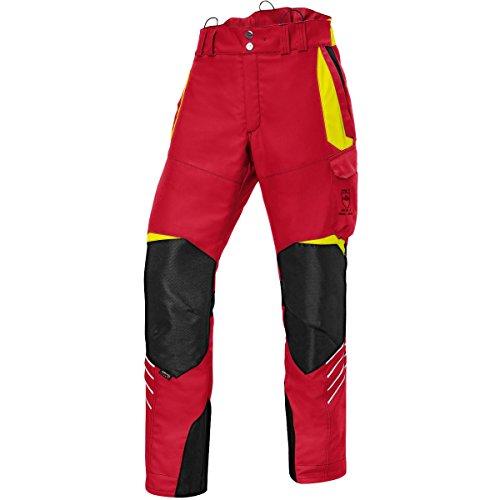 KÜBLER Workwear KÜBLER Forest Schnittschutzhose bunt, Größe M-89, Herren-Schnittschutzhose aus Mischgewebe, leichte Schnittschutzhose