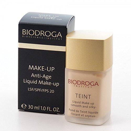 Biodroga: Anti-Age Liquid Make-up LSF 20 (30 ml): Biodroga: Farbe: Liquid Make-up 01 silk tan