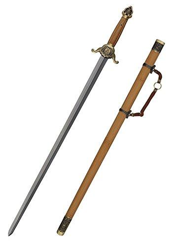 Tai Chi Schwert Shaolin Jian + scharf + echt von Hanwei ®