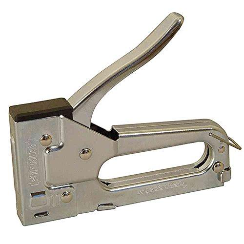 Preisvergleich Produktbild Stanley Handtacker TR45,  Stahlausführung (Klemmschutz verhindert Quetschungen,  für Klammern Typ A,  6, 8, 10 mm) 6-TR45