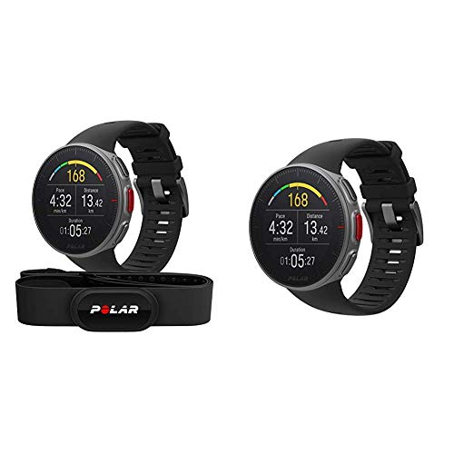 Polar Vantage V HR – Unisex Profi-Multisportuhr mit GPS, Pulsmessung und extrem Langer Akkulaufzeit & Vantage V – Unisex Profi-Multisportuhr mit GPS, Pulsmessung und extrem Langer Akkulaufzeit
