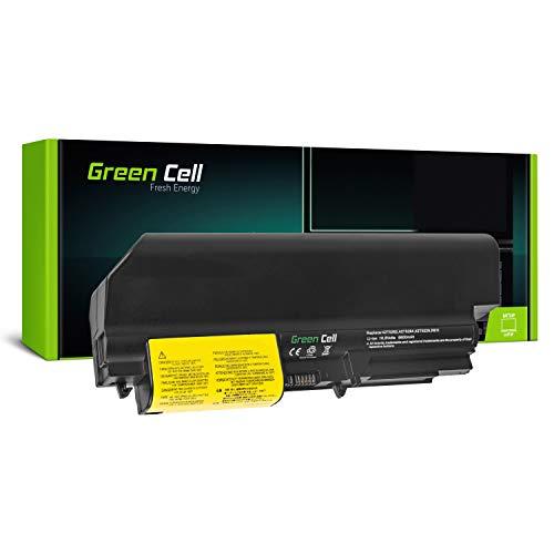 Green Cell® Extended Serie 42T5225 Laptop Akku für Lenovo IBM ThinkPad T61 T400 R61 R61i R400 (9 Zellen 6600mAh 10.8V Schwarz)