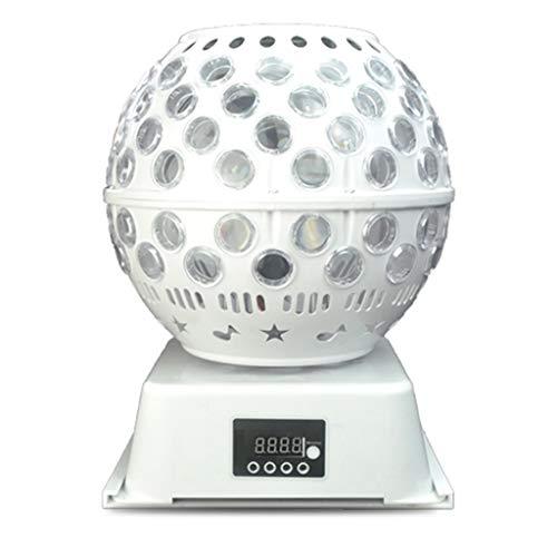 Luz Estroboscópica DJ, LED Luz De Bola De Discoteca Giratoria, Mini Luz De Fiesta RGB, Luces Estroboscópicas De Iluminación Automática Activadas De Sonido
