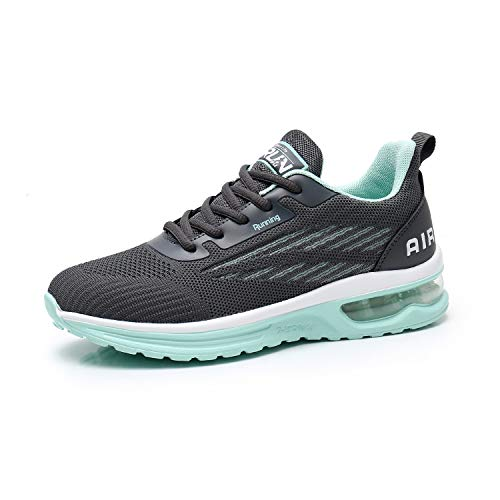 Axcone Laufschuhe Herren Damen Sportschuhe Straßenlaufschuhe Sneaker Joggingschuhe Turnschuhe Walkingschuhe Traillauf Fitness Schuhe-9001GY41