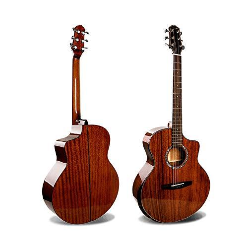 SCOC Clásica Guitarra acústica De Gama Alta al por Mayor de 41 Pulgadas Brillante melocotón Core Completo Individual de Chapa de Madera de la Guitarra acústica para el Principiante de Arranque