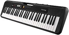 Casio CT-S200BK - Teclado de piano, Negro