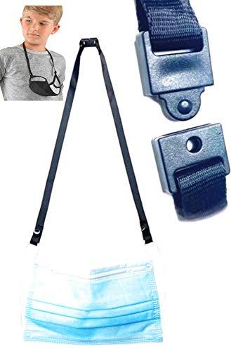 5 Pack FACE MASK Lanyard w/Safety Breakaway Kids/Adults, Multipurpose, Safety Breakaway Lanyard, Button snap Lanyard, Sunglass Holder, ID/Badge Holder, Lanyard Compatible for Kids/Adult face mask