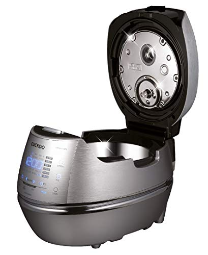 Cuckoo Electric Induction Heating Pressure Rice Cooker CRP-CHSS1009FN (Silver)