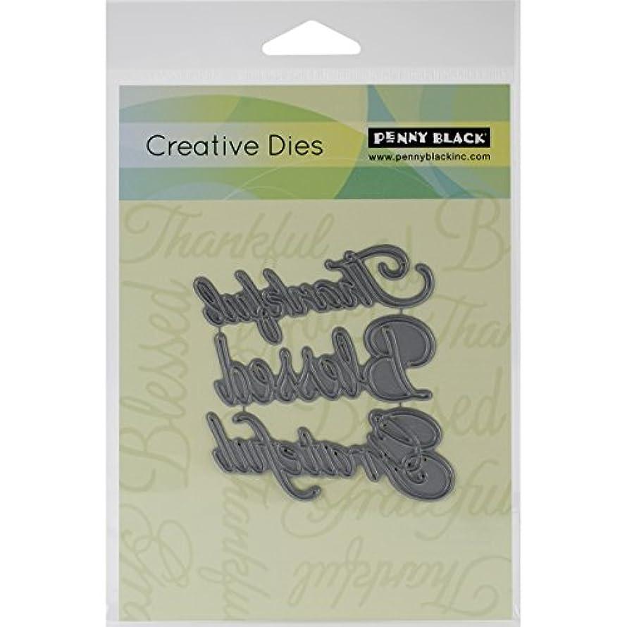 Penny Black 51-071 Creative Dies, Words of Gratitude