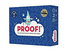 Award-winning math game loved by teachers, parents, kids, and grown-ups alike Perfect for 2 - 6 players, ages 9 - 109. Adaptable rules for younger players, too. Comes with 100 number cards chosen for optimal fun Great brain training to improve creati...
