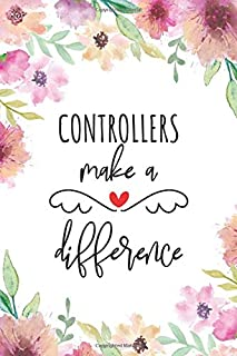 Controllers Make A Difference: Blank Lined Journal/Notebook for Controllers, Air Traffic Control Practitioner, Perfect Controller Gifts