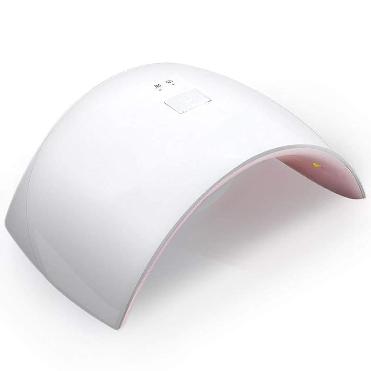 加入怪物類似性UVとLEDダブルライト 24W ネイルドライヤー 赤外線検知タイマー機能