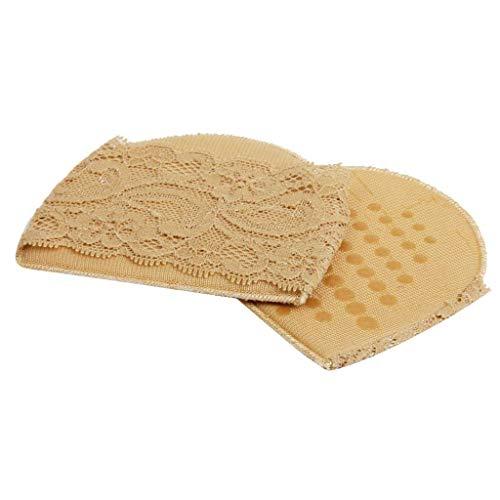 Zeagro Fußpolster 1 Paar Anti-Rutsch-Schmerzlinderung Mittelfußknochen Pads Ballenfuß-Vorfuß-Kissen Protektoren Spitzenband