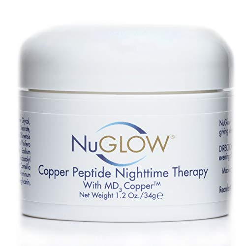 NuGlow® Copper Peptide NightTime Therapy With MD3 Copper