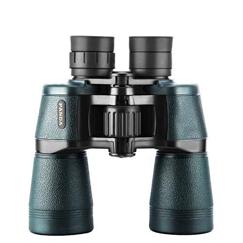 telescopio ZGB Spring@ Binoculares HD High Light Light Light Light Night Vision Adulto Al Aire Libre Material BAK4 Prisma Adecuado para Observación de Aves Concert Sling Optico