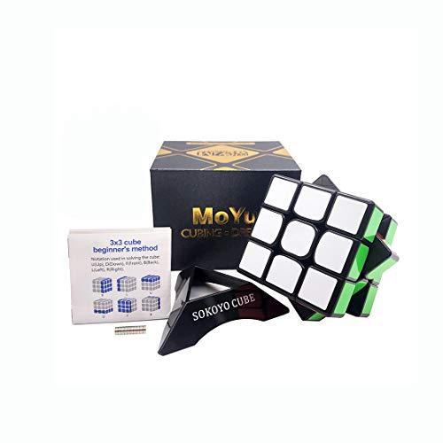 Moyu Cubo mágico de la Competencia del imán de la Velocidad del Cubo 3x3x3 WEILONG GTS2M con la Bolsa del Regalo | Dingze (B)