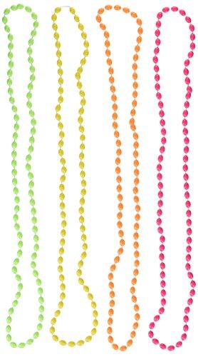 Amscan International 397480 halsketting, regenboogkleuren, 76 cm, eenheidsmaat