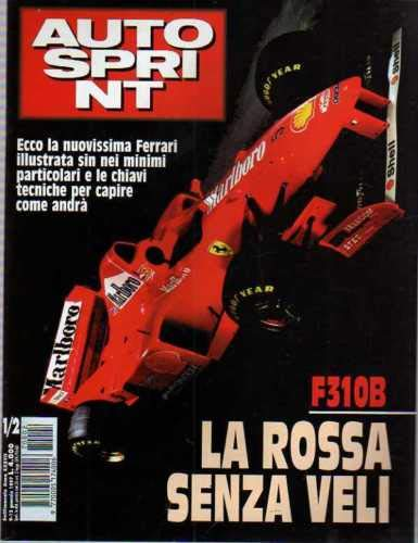 Autosprint Auto Sprint 1/2 Gennaio 1997 Ferrari F310B, Carlos Sainz